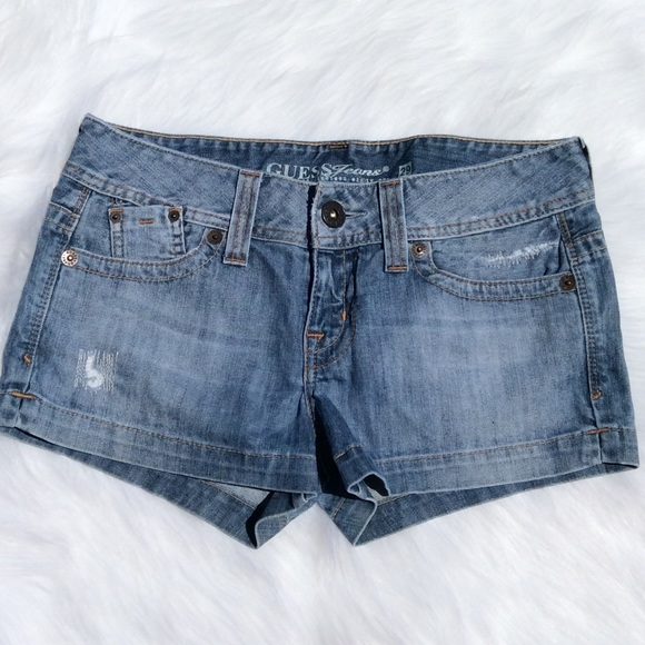 Guess Pants - Guess Jeans Distressed Shorts Women's 29